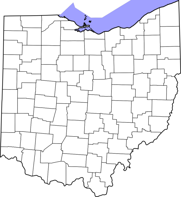 TemplateMap OH Counties The RadioReference Wiki - County maps of ohio