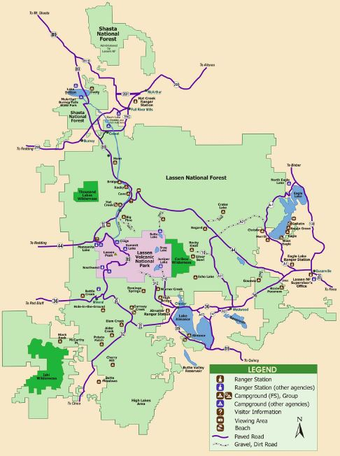 US Forest Service - Lassen National Forest (CA) - The ...