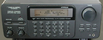 PRO 2042 1000 Channel Programmable Home Scanner 200 0464
