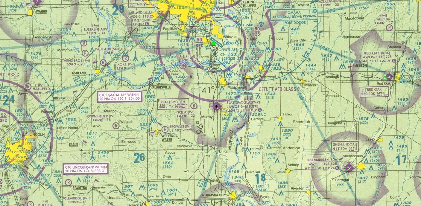 Sectional Charts Pdf : Plattsmouth municipal airport kpmv cass county ne