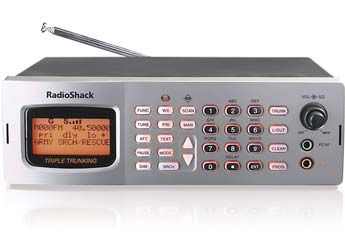 Radio shack pro-2026 100 channel programmable scanner; rs 20-148a.