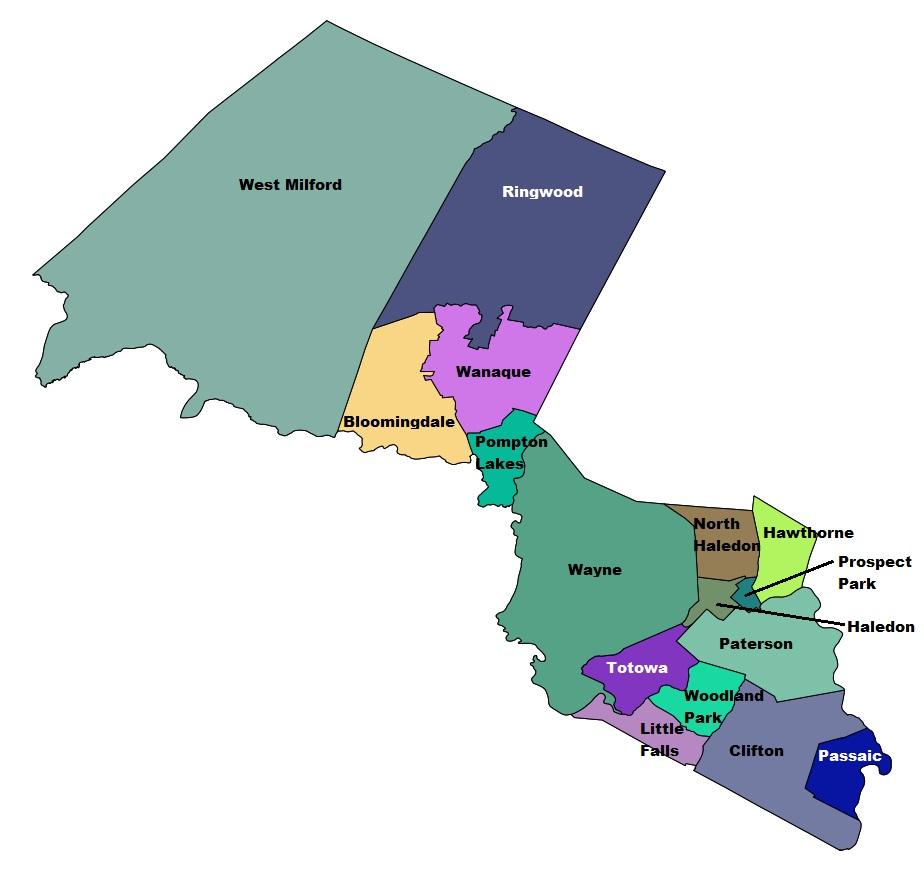 Passaic County Nj The Radioreference Wiki