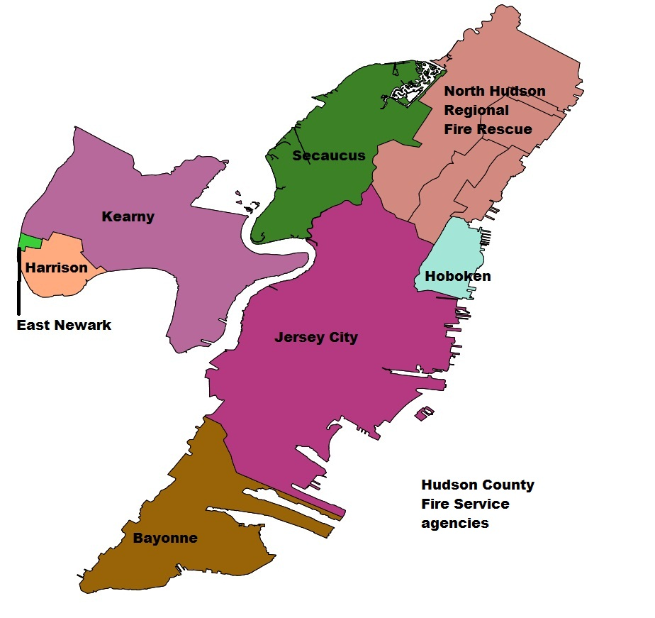 Hudson County Nj The Radioreference Wiki