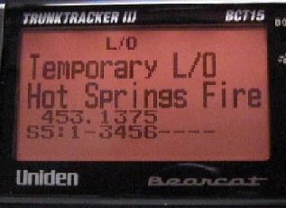 Monitoring Reviews Uniden Bct15