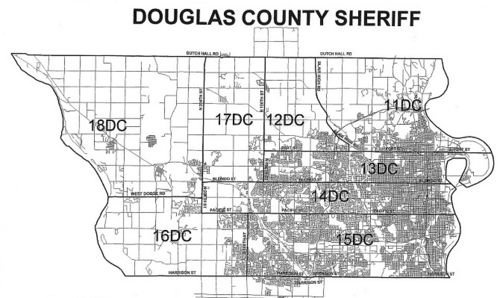 Douglas County District Map