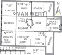 Map of Van Wert County Ohio With Municipal and Township Labels.PNG