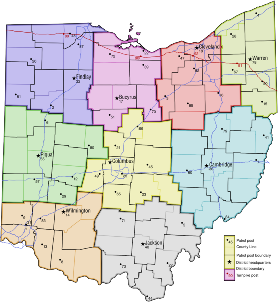 File:Ohio Highway Patrol Map.png