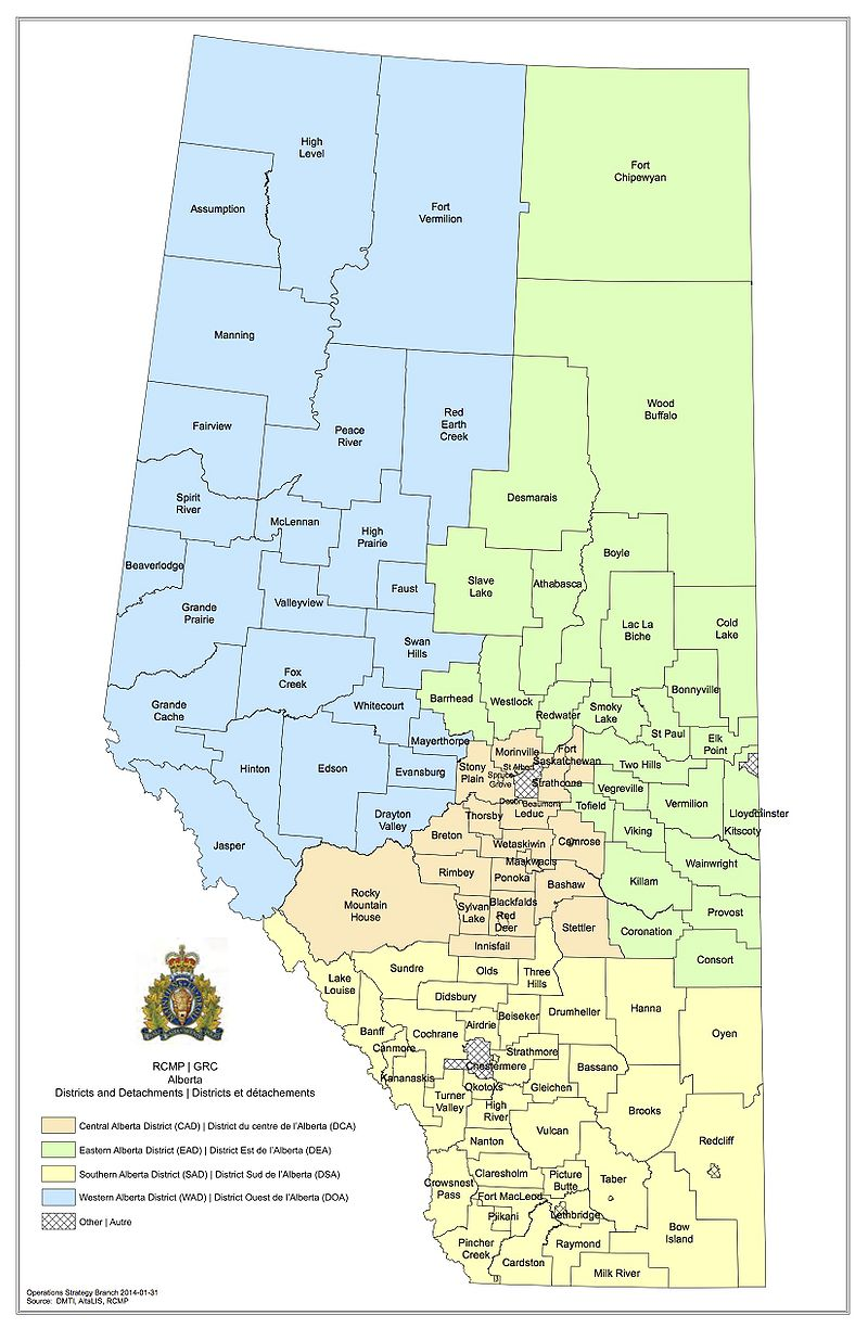 RCMP K Division AB The RadioReference Wiki