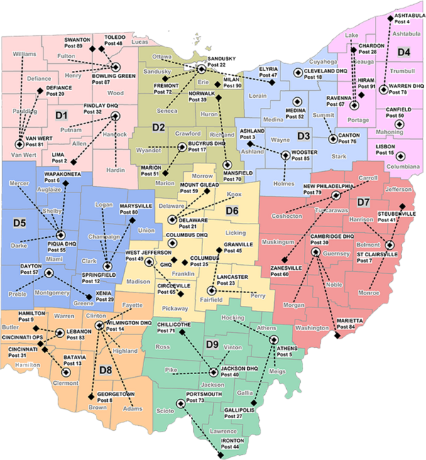 Ohio State Highway Patrol (OSP) (OH) - The RadioReference Wiki