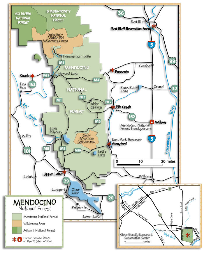 US Forest Service - Mendocino National Forest (CA) - The ... on california oil spill map, california lata map, california rocks map, california wildland urban interface map, current forest fires california map, california national parks map, california shark attack map, california wilderness map, california flooding map, california groundwater map, california nature map, nevada jarbidge wilderness area map, lake forest california map, california hunting map, california bigfoot sightings map, california district court map,